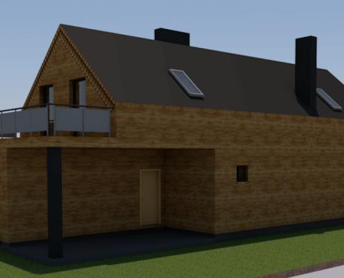 Sava Architektūra namų projektai - 2-3D 2