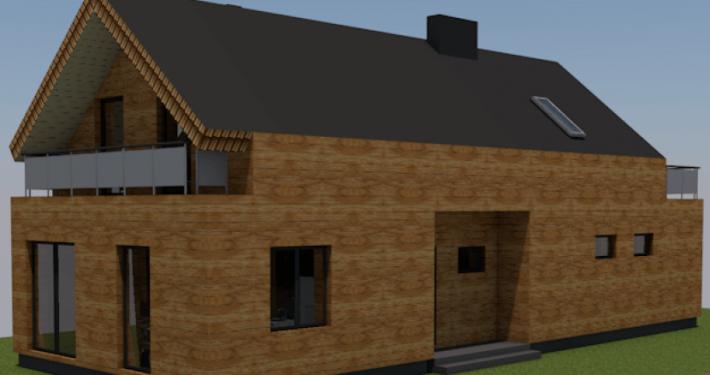 Sava Architektūra namų projektai - 2-3D