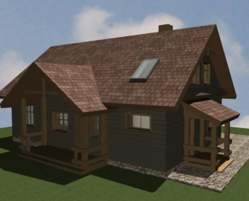 Sava Architektūra namų projektai - 3-3D 2