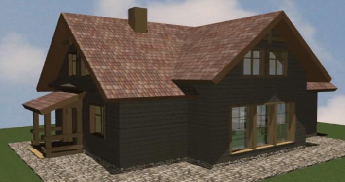 Sava Architektūra namų projektai - 3-3D
