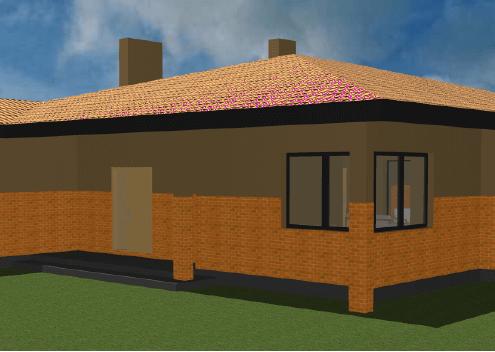 Sava Architektūra namų projektai - 5-3D 2