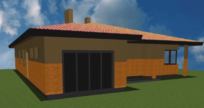 Sava Architektūra namų projektai - 5-3D 3