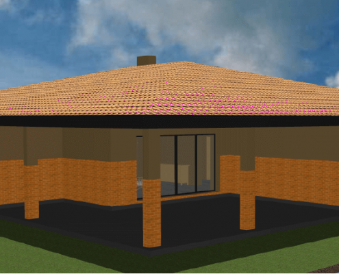 Sava Architektūra namų projektai - 5-3D