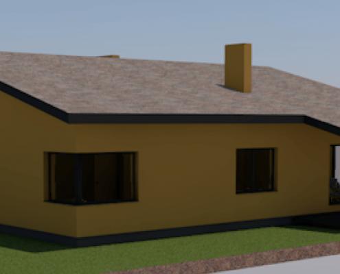 Sava Architektūra namų projektai - 6-3D 2