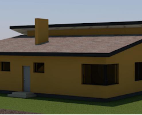 Sava Architektūra namų projektai - 6-3D 3