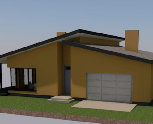 Sava Architektūra namų projektai - 6-3D