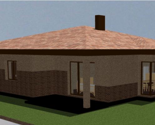 Sava Architektūra namų projektai - 7-3D 2