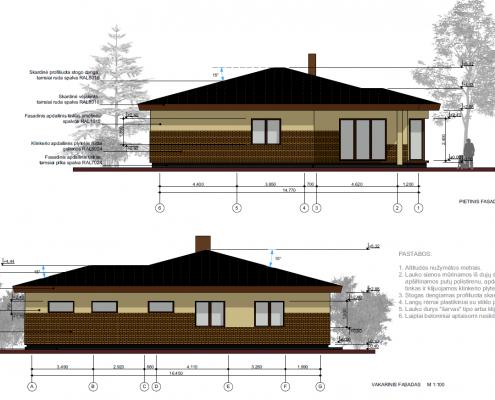 Sava Architektūra namų projektai - 7 fasadai