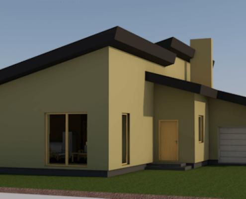 Sava Architektūra namų projektai - 8-3D